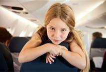 children on airplanes