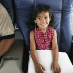 children with a flying phobia