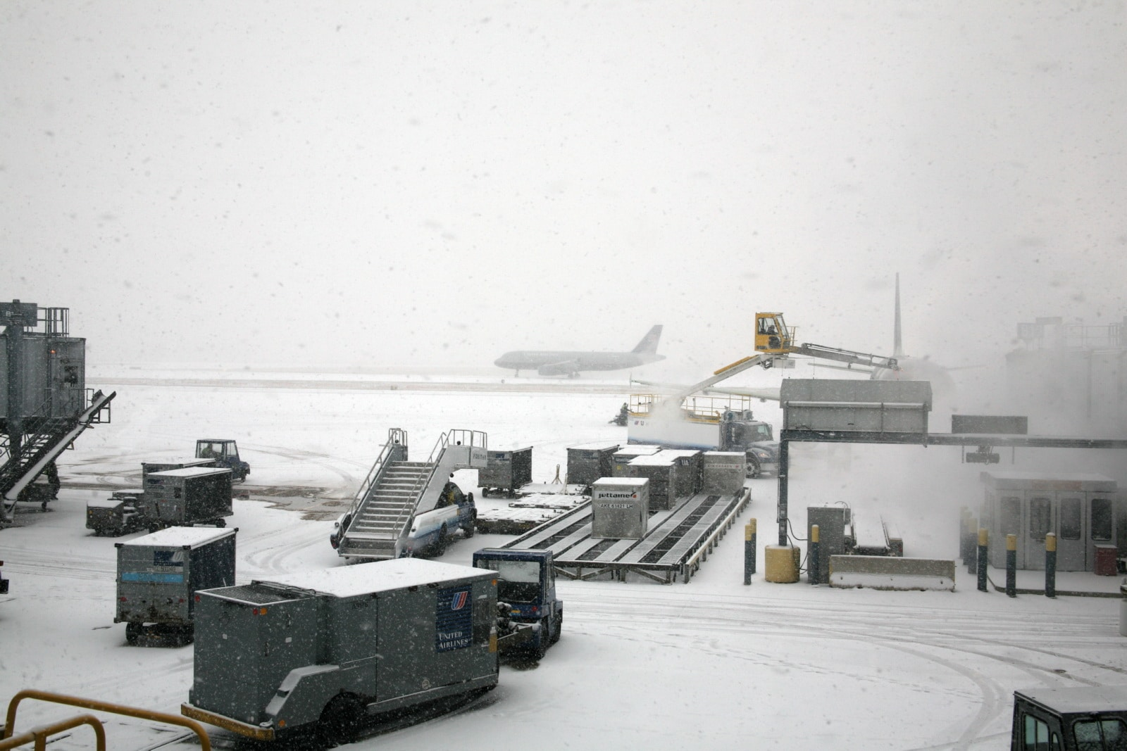 Snowy Weather O'Hare International Airport