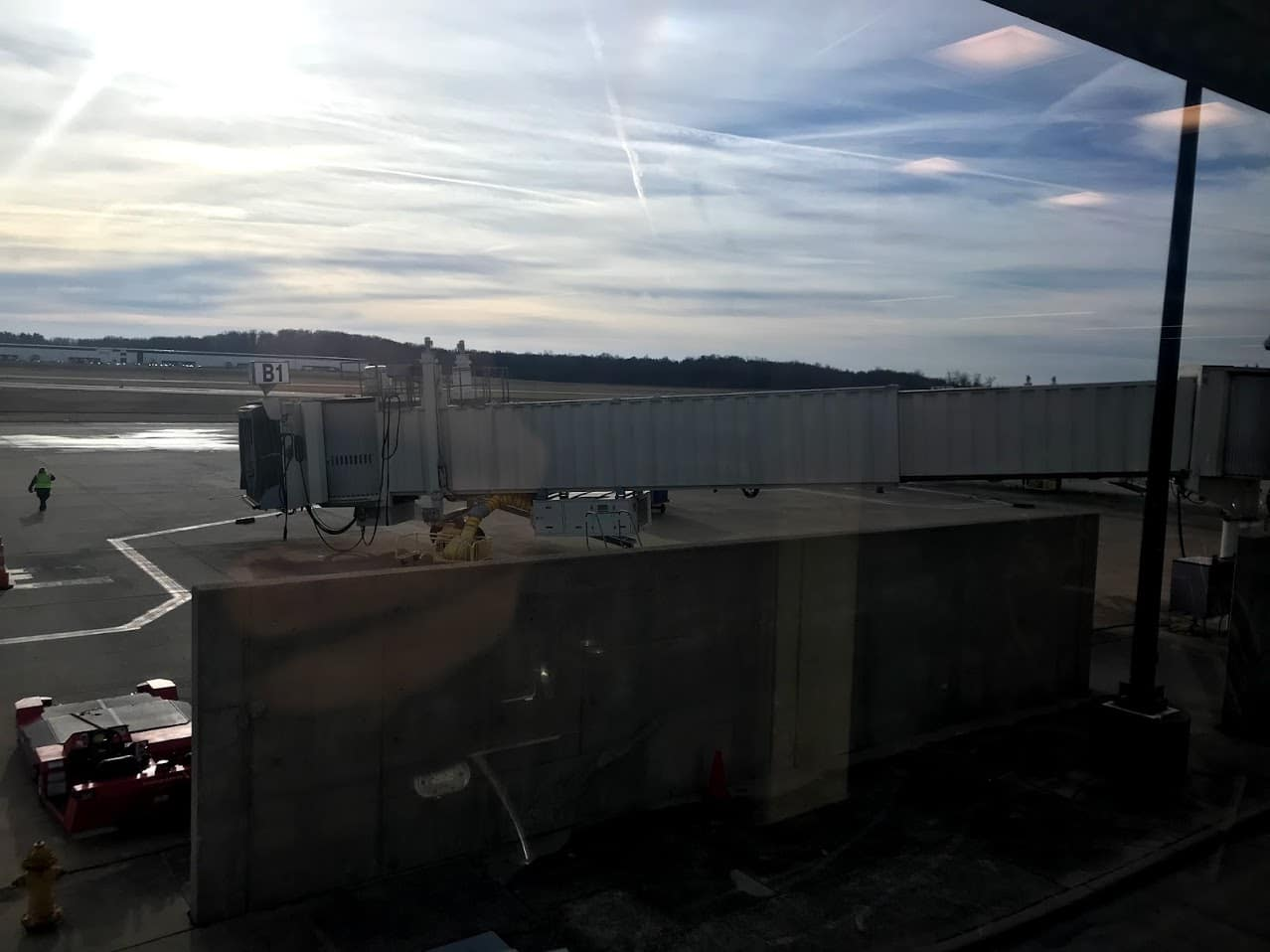 Jet Bridge with no airplane
