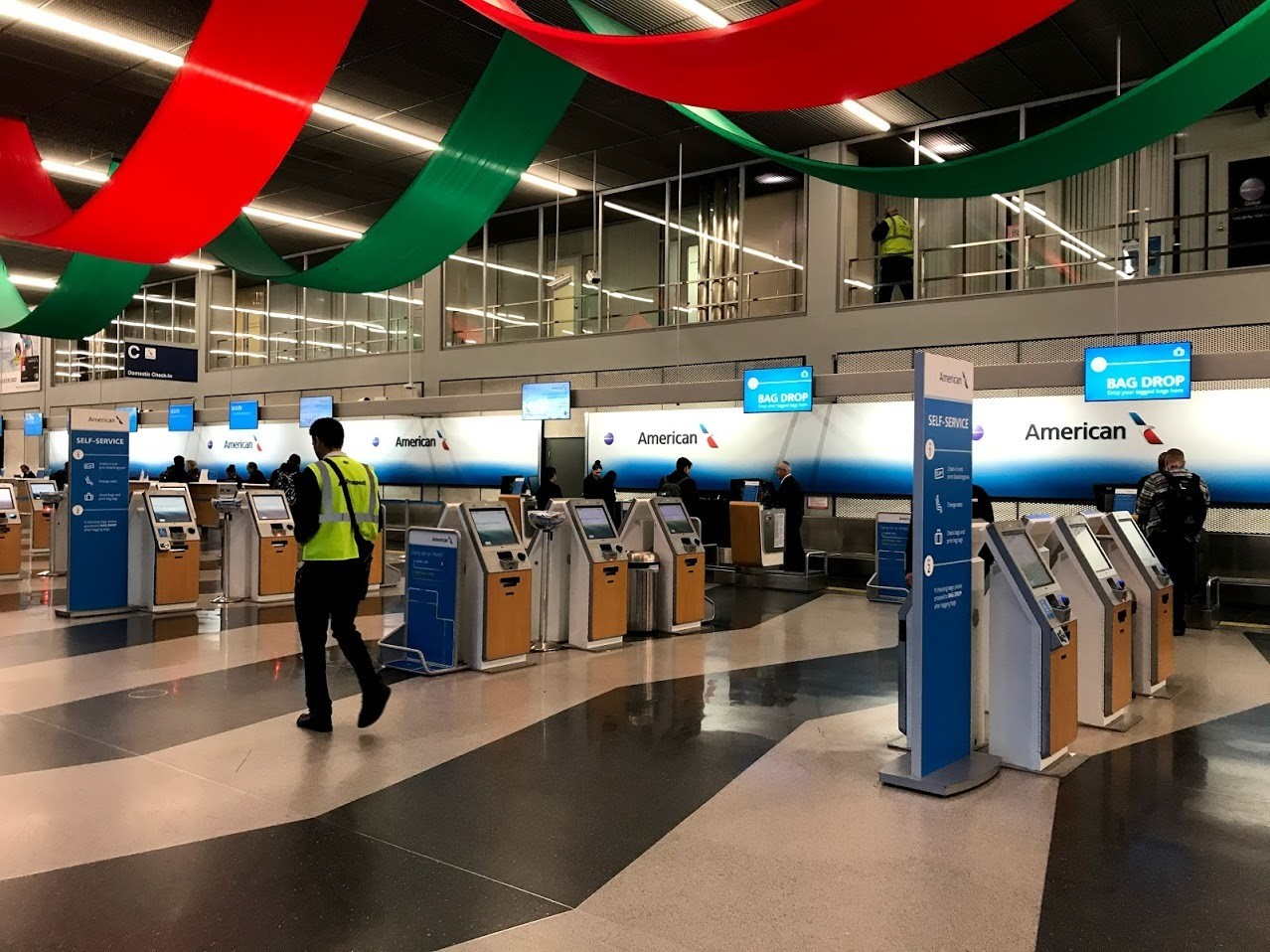 American Airlines Check In Kiosk Chicago Ohare