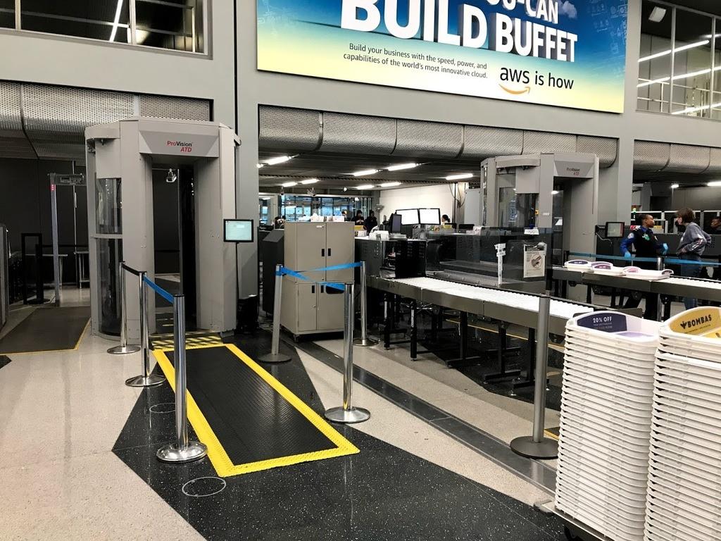 Chicago O Hare Security TSA Scanner